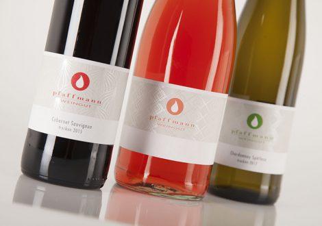 Weingut Pfaffmann Weinauswahl Etiketten
